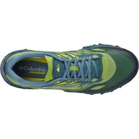 Columbia Trans Alps F.K.T. II - Zapatillas running Hombre - amarillo/verde